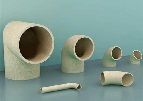 陶瓷浇道管-弯头